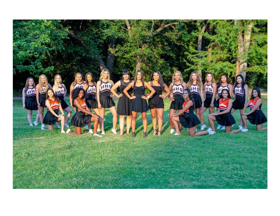 Haltom High School Cheer Group Photo