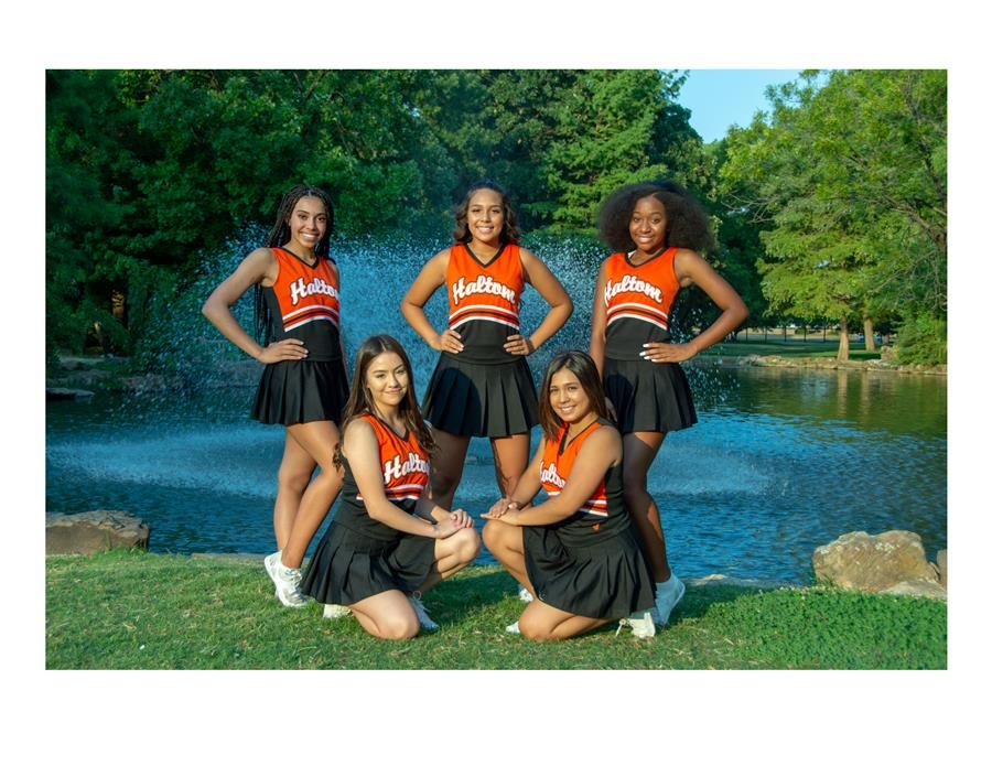JV Cheer Group Photo