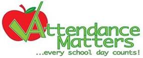 Attendance Matters- every school day counts!