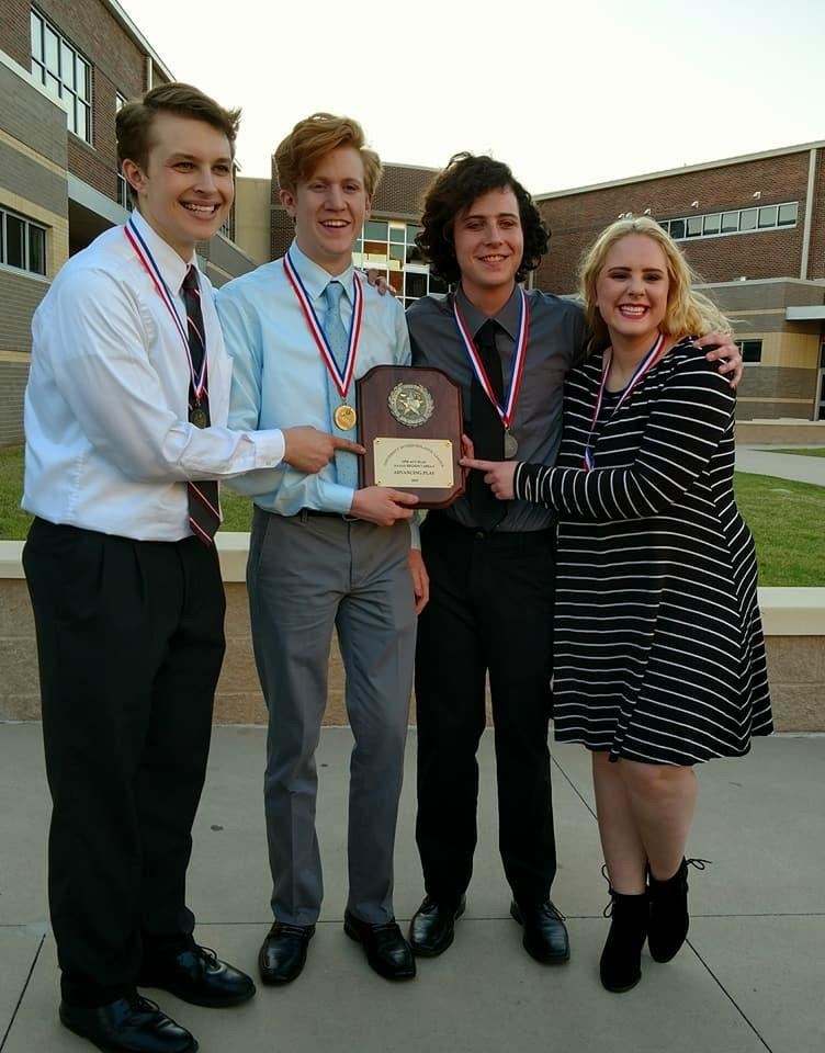 Picture of the One Act Play Individual Award Winners