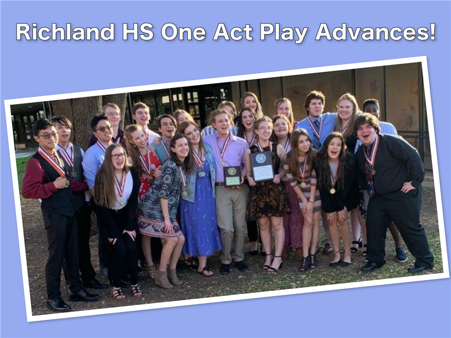 Richland One Act Play Advances!