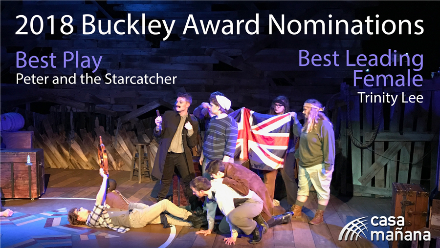 Photo Congratulations to the TheatRebels for their Buckley Nomination