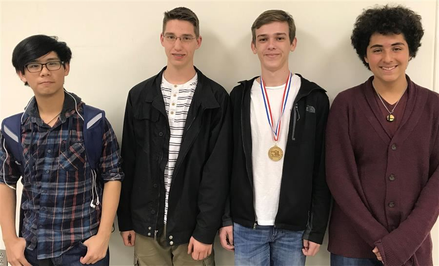 PIcture of the 2018 RHS UIL Science Team