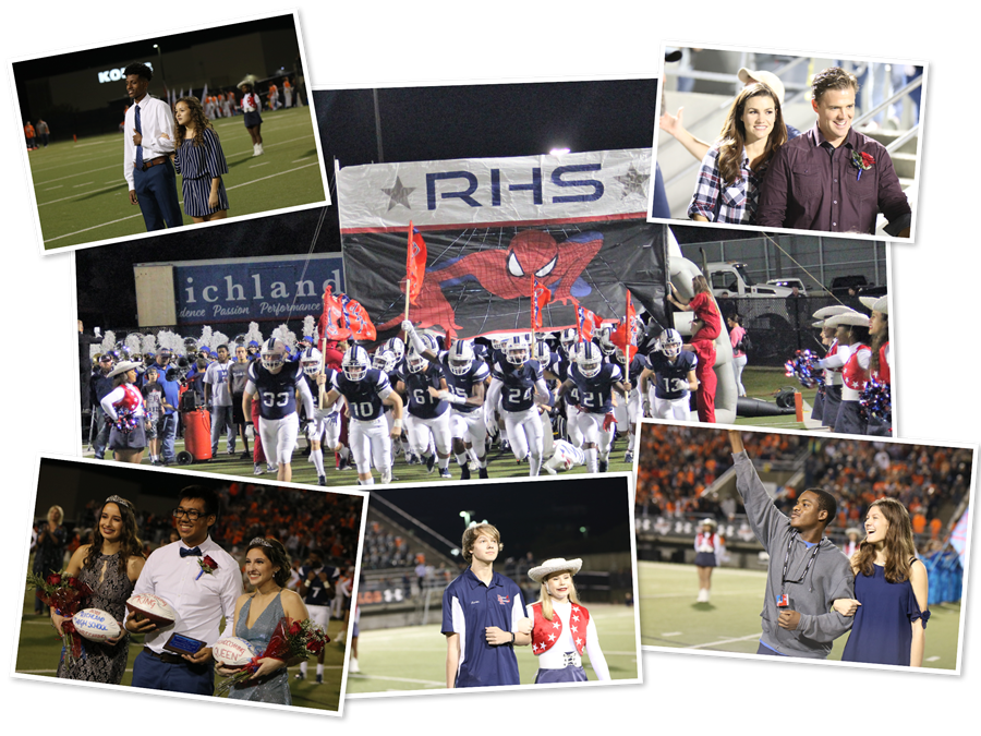 Pictures of the 2018-2019 Richland High School Homecoming Game
