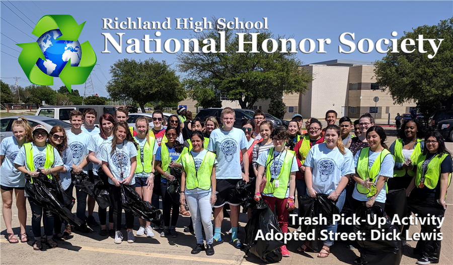 NHS Trash Pick-Up Activity Picture