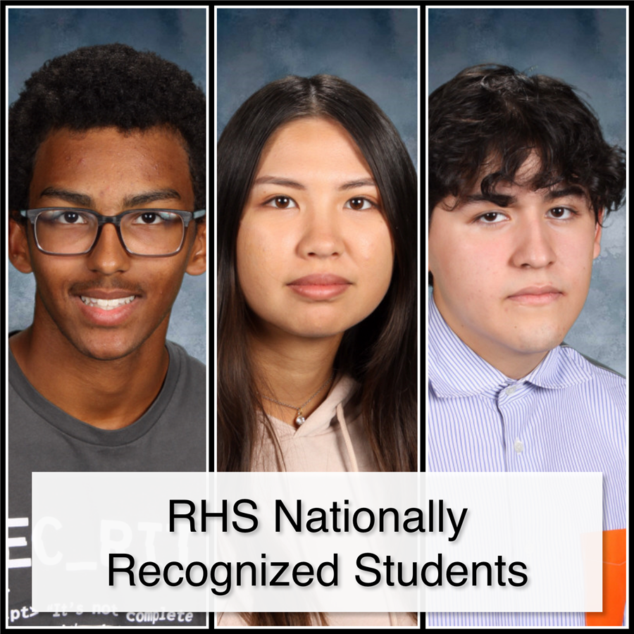 RHS Nationally Recognized Students