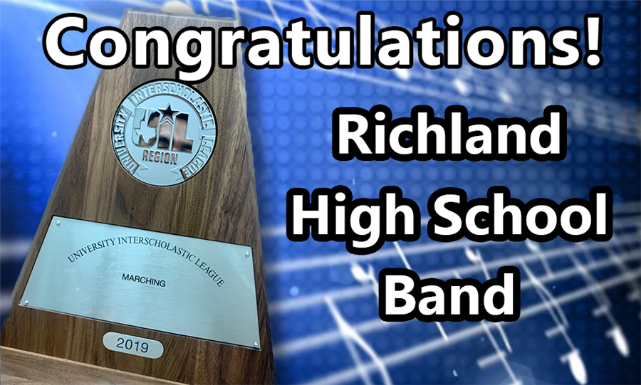 Congratulations! Richland High School Band
