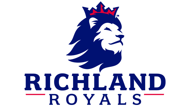 Richland Football Helmet Logo