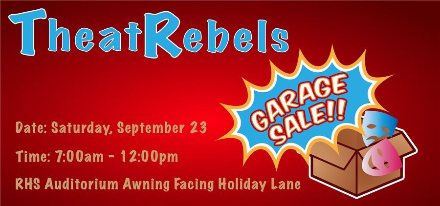 RHS Theatre Garage Sale