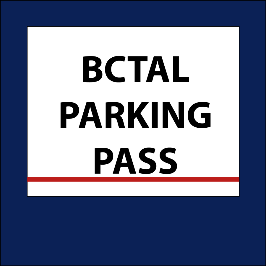 Online Purchasing of BCTAL Access Cards and Parking Passes is now available!