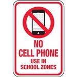 No Cell Phone use in school zones! Reminder that our school drive thru for arrival and dismissal is a no cell phone use zone.