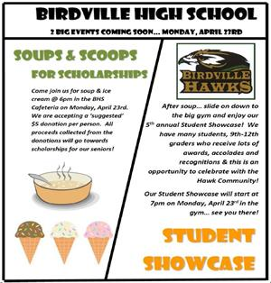 Soups and Scoops for Scholarships