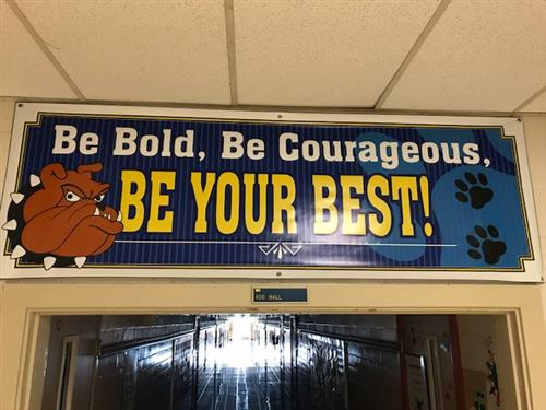 Be Bold Bulldogs
