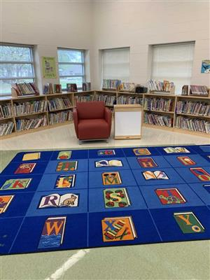Photo of West Birdville Elementary Library