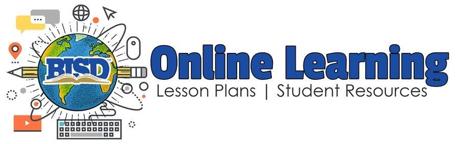 Online Learning logo | Lesson Plans | Student Resources