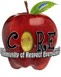 BISD C.O.R.E. Values Apple Logo