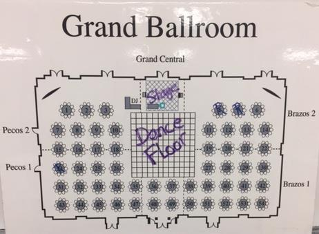 Picture of the Grand Ballroom Layout