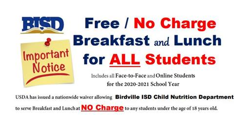 Free / No Charge Lunch See link for more PDF formatinfo