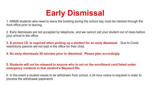 Early dismissal document version can be found below the image.