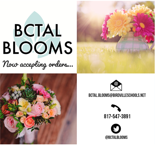 BCTAL Blooms Ad