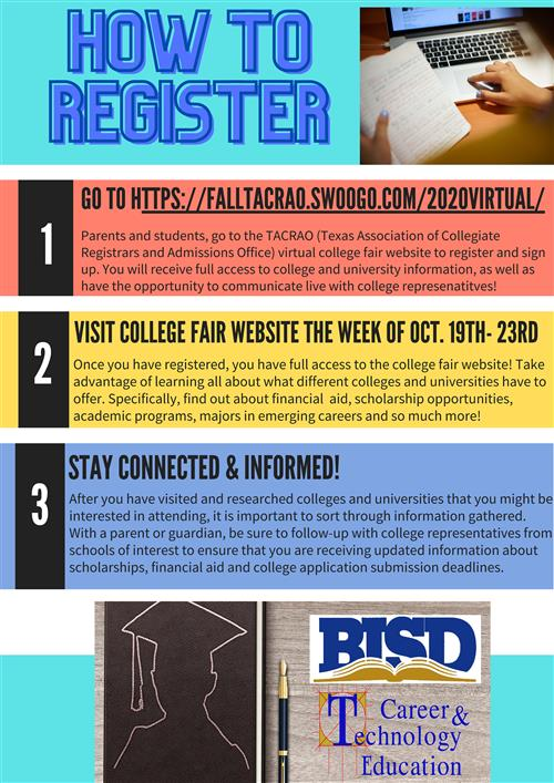 How to Register for Virtual College & Career Week
