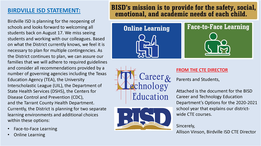 Career And Technology Education Homepage