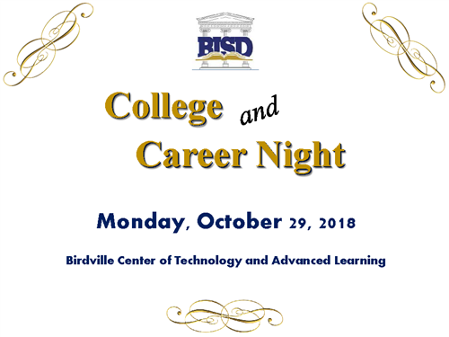 BISD 2018 College and Career Night