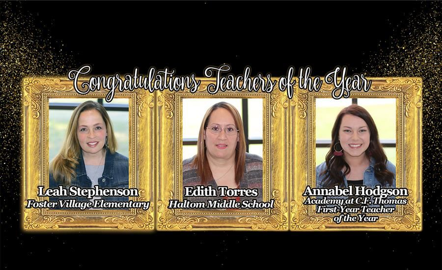 Teachers Of The Year 2018 19 Honorees
