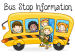 bus with kids clipart