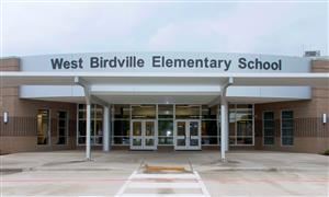 Front view of West Birdville Elementary Campus
