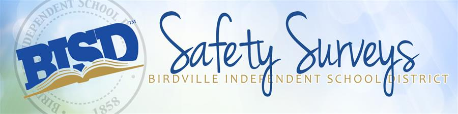 header for Safety Surveys with BISD logo