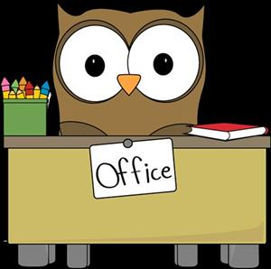 Owl at a Desk