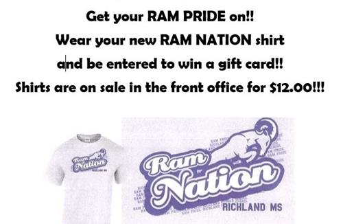 SHOW YOUR RAM PRIDE ON DECEMBER 7TH