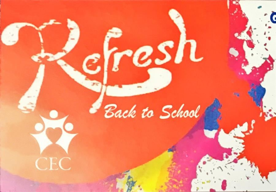 GET READY FOR SCHOOL WITH REFRESH