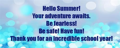 HAPPY SUMMER!!!