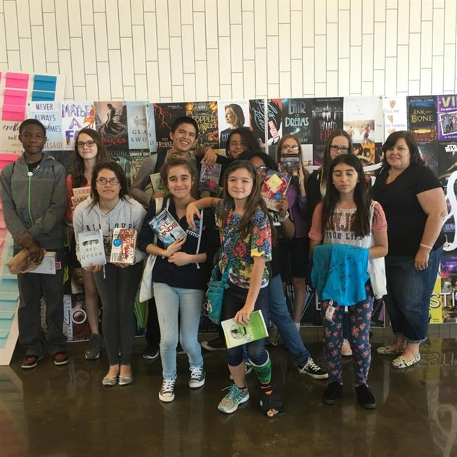RAMS Visit North Texas Teen Book Festival 2016