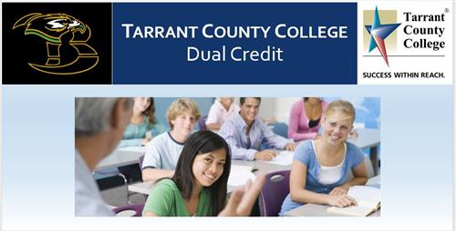 Tarrant County College Dual Credit Information