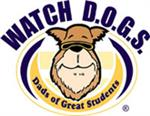 WATCH D.O.G.S. Logo Dads of Great Studentes
