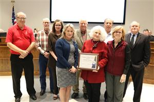 Christmas Providers was recognized for their support of BISD families