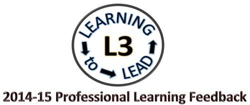2014-15 Professional Learning Feedback