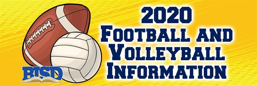 2020 Football and Volleyball Information