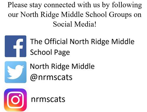 The Ridge is on social media!