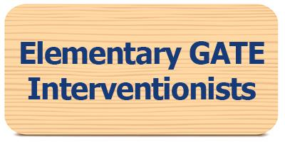 View Elementary GATE Interverventionists