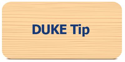 Select for DUKE Tip