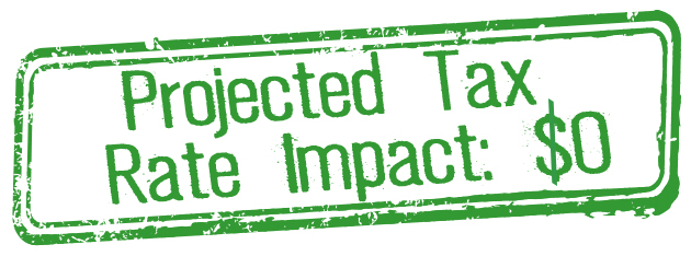 Projected Tax Rate Impact: $0