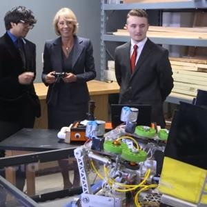 Robotics Demo with Betsy DeVos