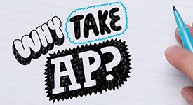 Graphic that asks Why Take AP?