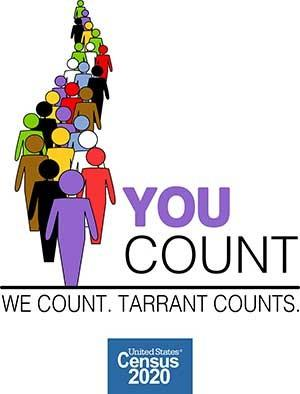 Tarrant County Census2020 logo