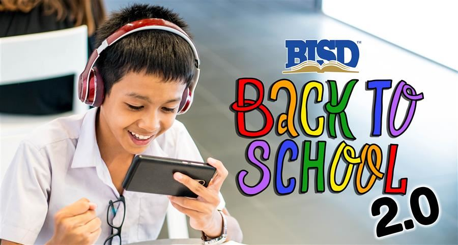 BISD logo | Back to School 2.0