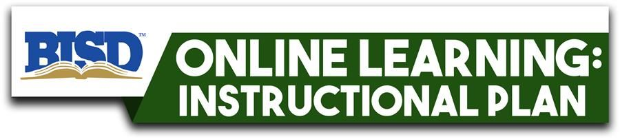 Online Learning: Instructional Plan